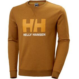 Helly Hansen HH Logo Sweat-shirt à col ras-du-cou Homme, marmalade